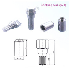 Wheel Lock Nut (JSLN004)