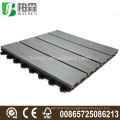 capped composite interlocking decking Co-extrusion wpc tiles