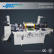 Pre-Printed Label Roll to Roll Die-Cutter with Punching Function