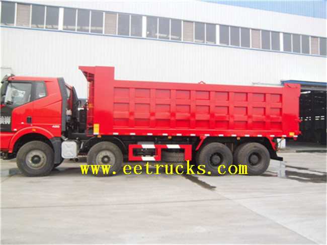12 Wheeler Dumper Trucks