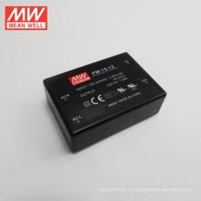 Mean Well 15W 12V Módulo de CA / CC a bordo Tipo de fuente de alimentación Tipo médico Encapsulated Type Single Output PM-15-12