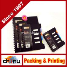 Caderno espiral Easypag 105 folhas, 4 cores do assunto-Label (520038)