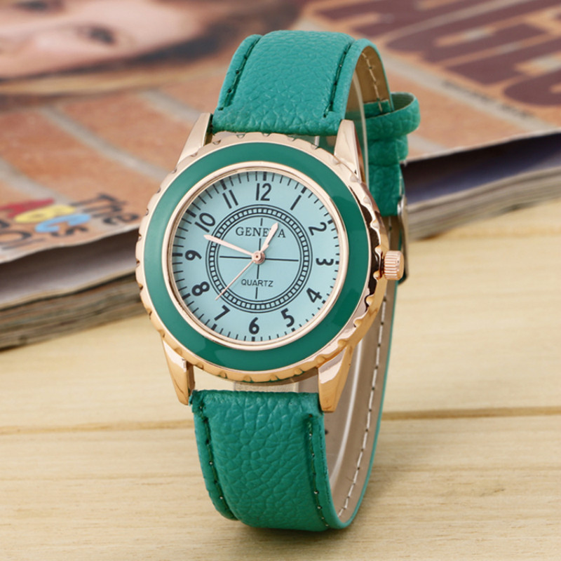 Antique Vintage Styles Leather Watch