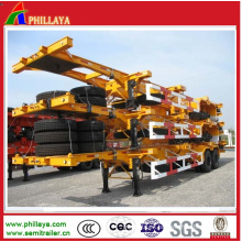 Double Axle Container Chassis for Container Semi Trailer