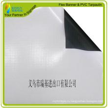 Баннер из ламинированного ПВХ, черно-белый баннер
