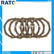 Placas de embreagem de fricção de disco de fricção de motocicleta com mais de 2.90mm