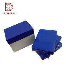 Boîte professionnelle en papier carrée de fabrication récente