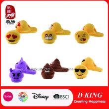 Custom Various Peluche Emoji Slipper Wholesale