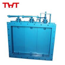 Square Louver Type Válvulas de amortiguación eléctricas modulantes
