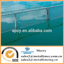 Edelstahlseilschutzmaschendrahtfischbauernhofseil-Ineinander greifenfiletarbeit