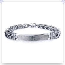 Joyas de acero inoxidable pulsera de moda pulsera de identificación (HR438)
