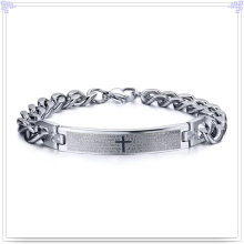 Stainless Steel Jewelry Fashion Bracelet ID Bracelet (HR438)