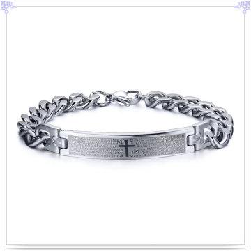 Stainless Steel Jewelry Fashion Bracelet ID Bracelet (HR438)