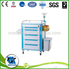 Gemeinschaftsraum oder Krankenhaus ICU Medizin Trolley Cart