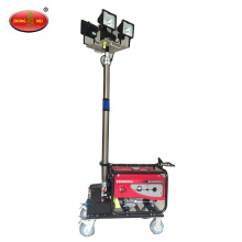 Portable Remote Control Mobile Halogen Lamp Light Tower