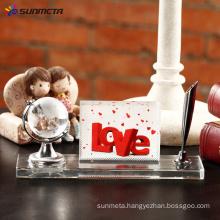 sublimation crystal photo Globe and Pen set BSJ23 150*115*50
