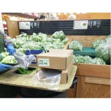 Gemüse und Obst Plastiktüte