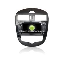 Quad core! Dvd do carro com link espelho / DVR / TPMS / OBD2 para 7 polegadas tela sensível ao toque quad core 4.4 Android sistema Tidda