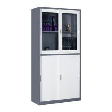 2018 новый дизайн узкой боковой сдвижной двери металлический шкаф