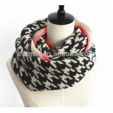 Men Women Fall/Winter Knitted Acrylic neck gaiter scarf
