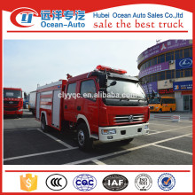 Dongfeng 4000liters mini coche de bomberos del aeropuerto para la venta