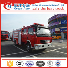 Dongfeng 4000liters mini airport fire truck for sale