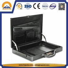 Maleta de alumínio com bolsos de negócios (HL-2506)