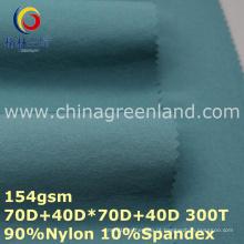 Tecido de sarja de náilon bidirecional para vestuário (GLLML256)