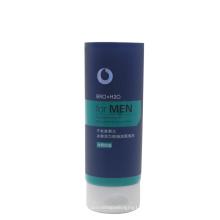 Tubo cosmético de crema limpiadora facial de 150ml para hombres con tapa con tapa abatible