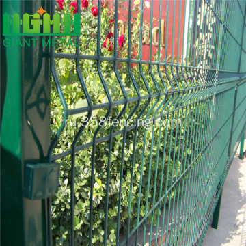 Green+Color+Welded+Triangle+Bend+folding+Fencing