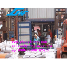 Bag Filling and Sewing Machine for Bulk Material