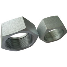 Black Carbon Steel and Zinc Plate Hex Nuts