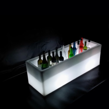 Gartenmöbel LED Cube Ice Bucket (B010)