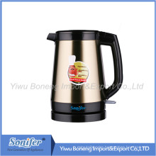 2.0 L Stainless Steel Electric Water Kettle Keep Warm Water Kettle Sf-2390 (Yellow)