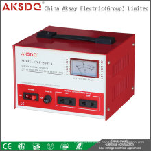 Hot Sale SVC /TND Single Phase Servo Motor High Accuracy 500va Full Automatic AC Voltage Stabilizer/WenZhou China
