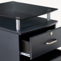 Movable Office Wood File Cabinet With Three Drawer