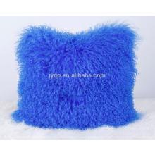 classic mongolian sheep wool pillow