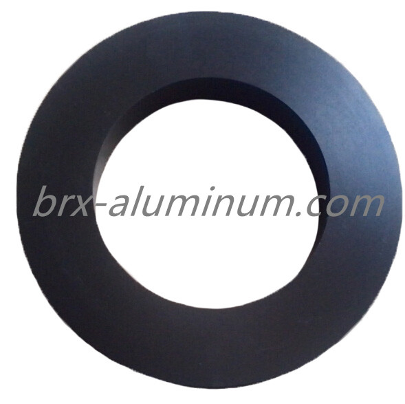 Wear Resistant Hard Anodized Aluminum Part