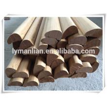 Habillage décoratif base en bois avec garniture de base en bois pour moulures