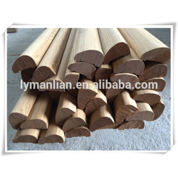 Decorative Casing Wood wall trim primed base shoes moulding craft wood decorative moulding