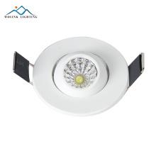 échantillon gratuit nouveau design 3w rond prix de led lumières led surface monté downlight
