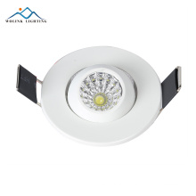 free sample new design 3w round price of led lights led surface mounted downlight