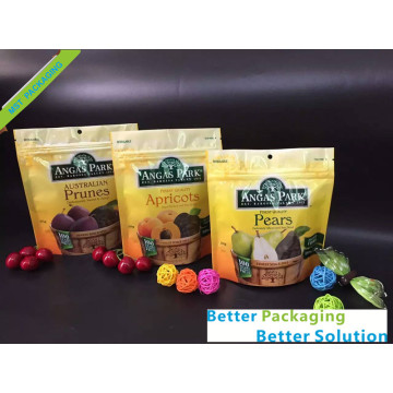 Dry Fruit Zip Bag With Hang hole