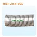 Auto Auspuff Flexible Rohr mit Inter -Locked Schlauch / Braid Form