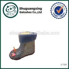 zapatos de seguridad de la lluvia para lluvia niños botas fábrica invierno/C-705