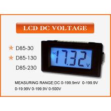 LCD Digital Mini Panel Amperímetro / Voltímetro (SCD-85)