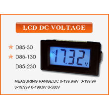Amperímetro / voltímetro do medidor de painel eletrônico digital LCD (SCD-85)