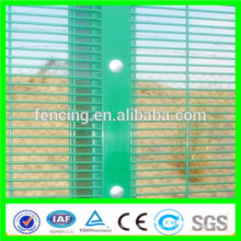pvc coated 358 high security fencing/ RAL7030 358 High Security fence low proice