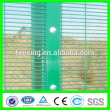 pvc revestido 358 cercas de alta segurança / RAL7030 358 alta segurança vedação baixo proice