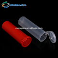 Plastic Bottles with flip top cap packaging tube